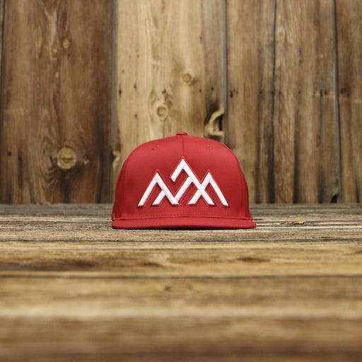 NWS Athletic Red Flatbrim Hat