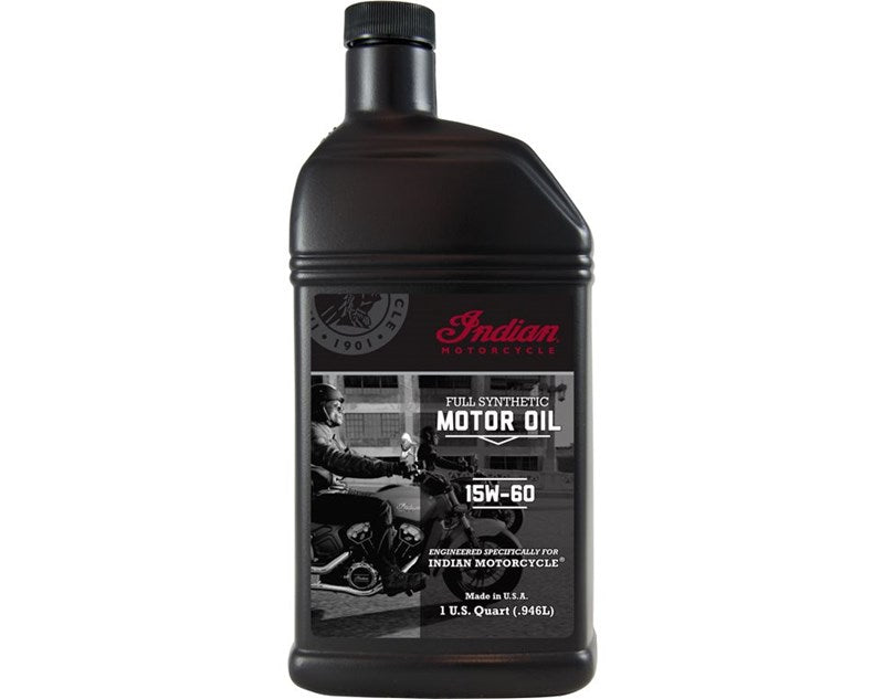 Indian Motorcycle Full Synthetic Motor Oil - 1 Quart 15W-60