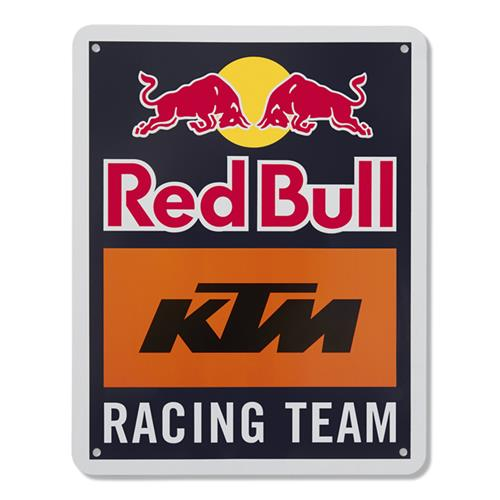 Red Bull KTM Racing Team Metal Sign