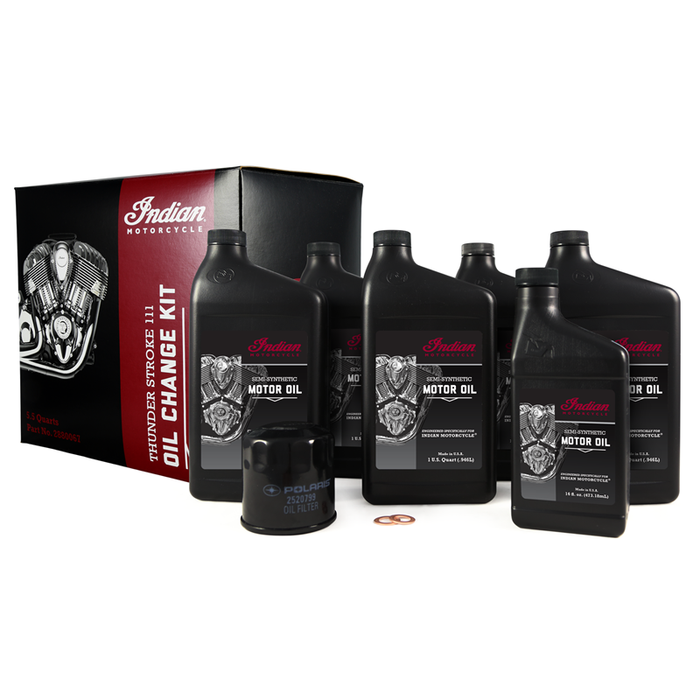 Indian Motorcycle Thunderstroke Oil Change Kit