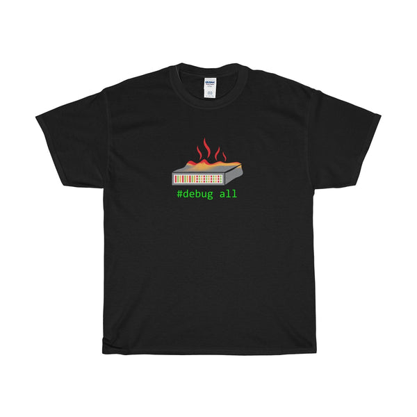 #debug all Network Engineer Tee Shirt in Classic Console