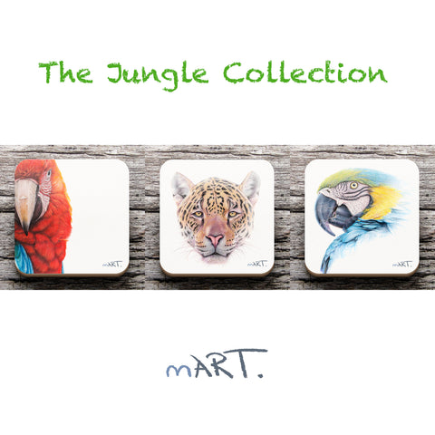 Coasters (The Jungle Collection) - Martin Aveling