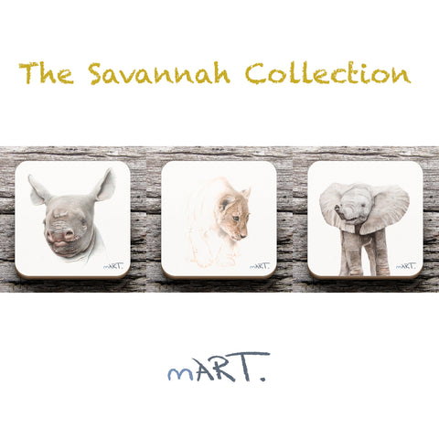 Coasters (The Savannah Collection) - Martin Aveling
