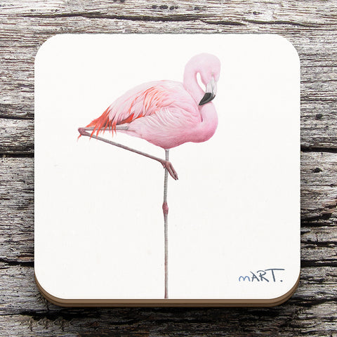 Coaster (Flamingo)