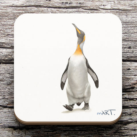Coaster (King Penguin) - Martin Aveling