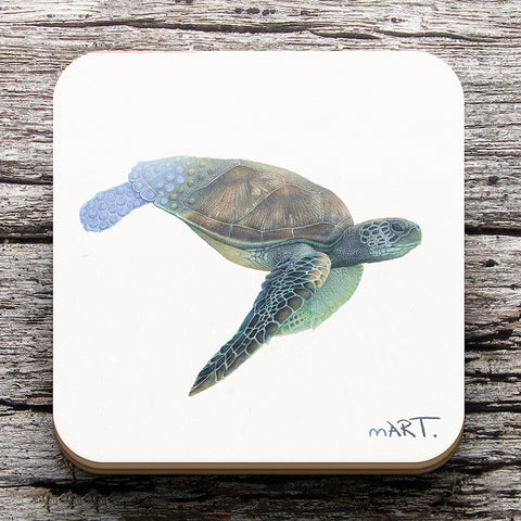 Coaster (Green Sea Turtle) - Martin Aveling