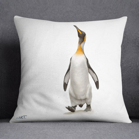 Cushion Canvas (Sir Nils Olav) - Martin Aveling