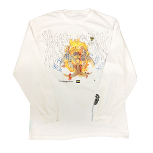 White Longsleeve® X-Large