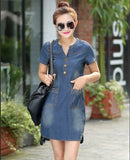 dress women denim summer