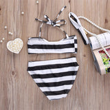 Bikini swimsuit high waisted