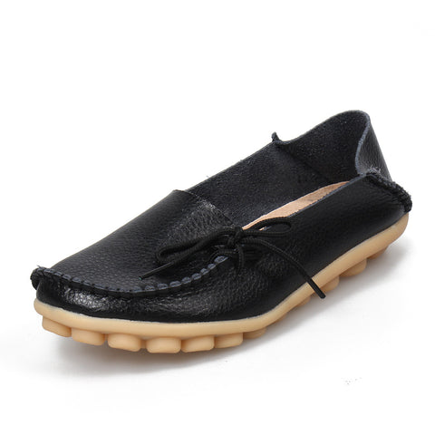 Shoes Moccasins Mother Loafers Soft Leisure Flats Casual
