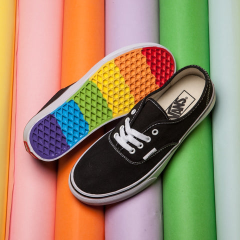 Rainbow canvas Sneakers Weight lifting shoes