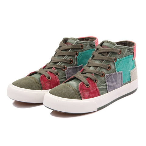 Shoes canvas shoes all match fashion colorant