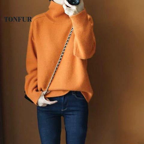 Sweater Knitted Cashmere Pullovers PU22