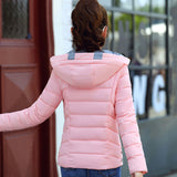 jacket cotton padded casaco feminino womens