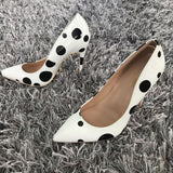 Pointed Toe High Heels Pumps Shoes RI