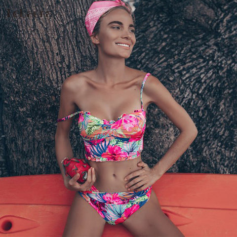 41f143fa7f3 Split Swimsuit Summer Beach Wear Biquini RI. Regular price $21.43. View.  Summer Beach Ruffle Bikini SE