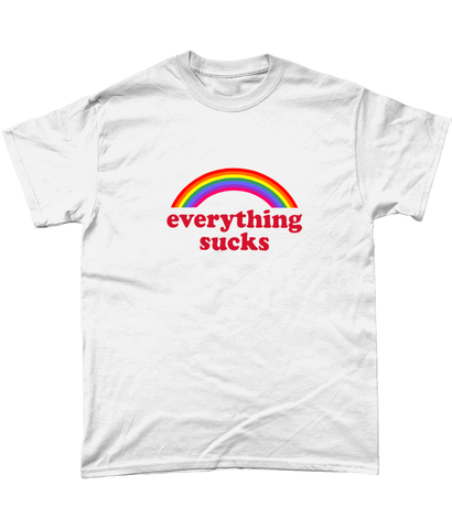 Gildan Heavy Cotton T-Shirt Everything Sucks (F)