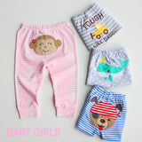 Pants Cartoon Embroidery Trouser