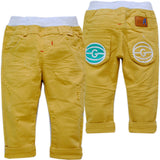 baby yellow unisex pants