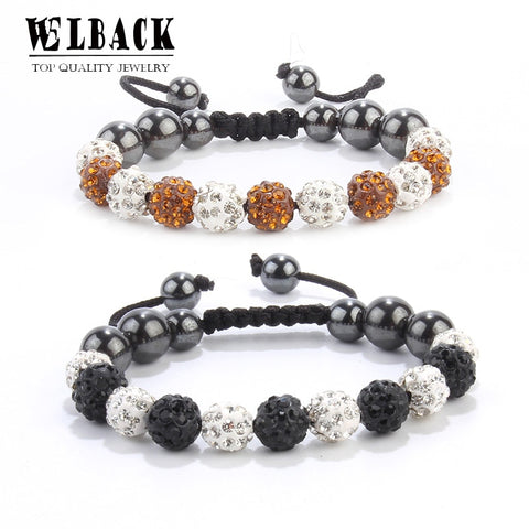 Big Beads Stones Ball Bracelet Jewelry SE
