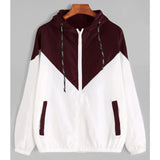 Jacket  Hooded Two Tone