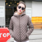 Parkas Basic Jackets Female Women Winter