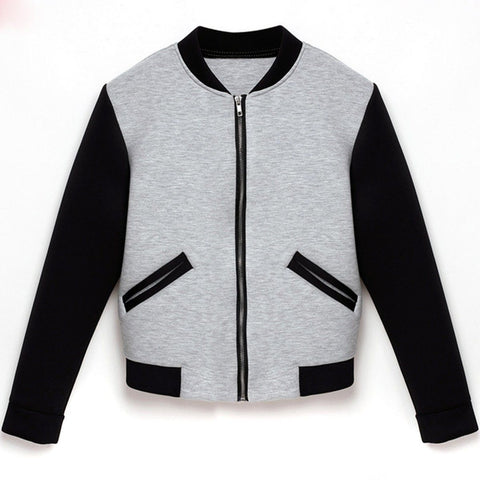 Jacket Long Sleeve Stand Collar pullover