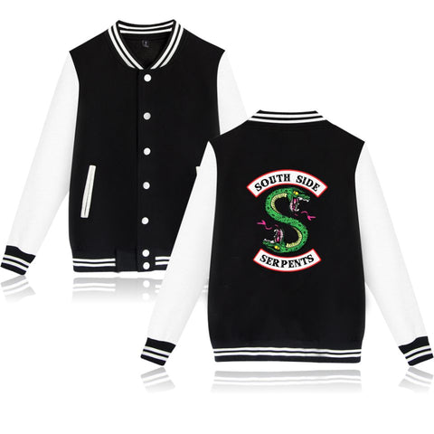 Jacket South Side Mens Female Fans Casual Baseball