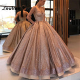Glitter Ball Gown Dress SE