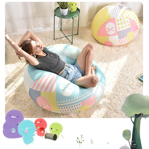 Bean Bag Sofa Chair Cover Lounger Seat Living Room Bed SE