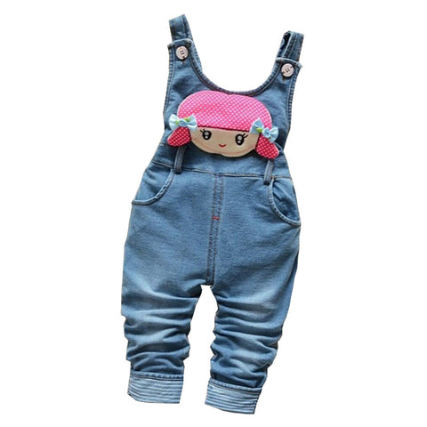 Pants Children Jeans Jumpsuit