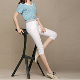 Pants  Calf Length Comfortable