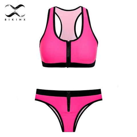 fd6eb6258319e Bathing Suit Push Up Bikini Set High Waist Rainbow. Regular price $20.38.  View · bikini bathing push up bra bikini