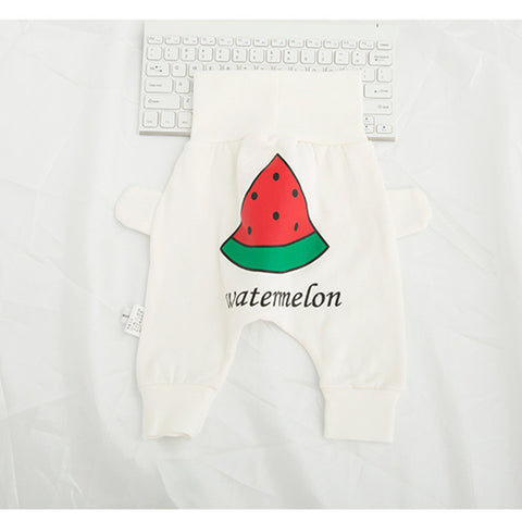 Pants Baby Fruit Pattern Belly