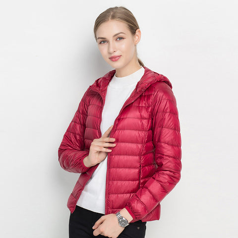 Jacket with Hood Women Hoodies Slim Fit Outwear