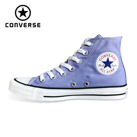 4ceb16cde02ca2 converse violet color original high sneakers skateboarding shoes