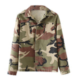 Jacket Women Camouflage Cool Outerwear