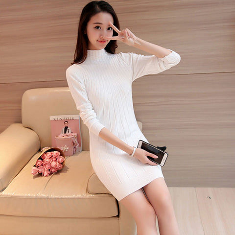 Dress Casual Winter Knitted Autumn