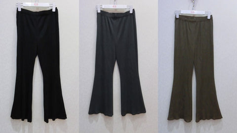 pants Pleated Elastic