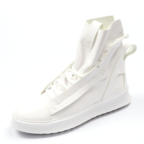 Men Casual Shoes High Top Yellow Hip hop Boots SE