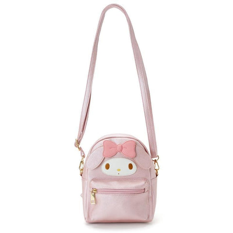 My Melody Cinnamoroll Kuromi PU Leather Small Back Pack Crossbody Bags SE