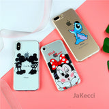 Cute Phone Case for iPhone Mickey Mouse Cartoon SE