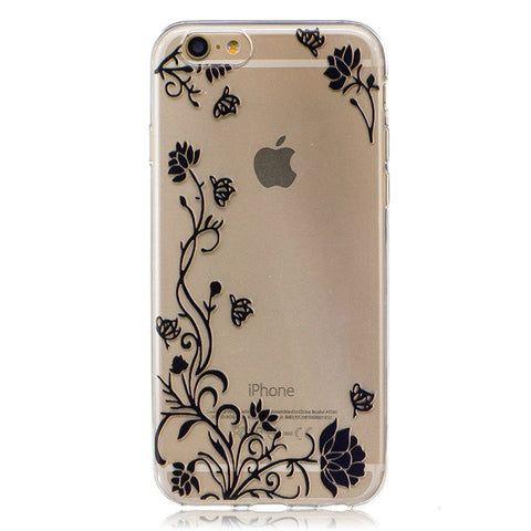 7bfe7d31dd9 Silicone Apple iPhone 8 7 6 6S Plus 4S 5 5S SE 5C ipod touch 6 Soft ...