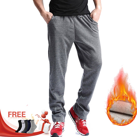 Mid Cotton Men's Sporting Workout Pants RI