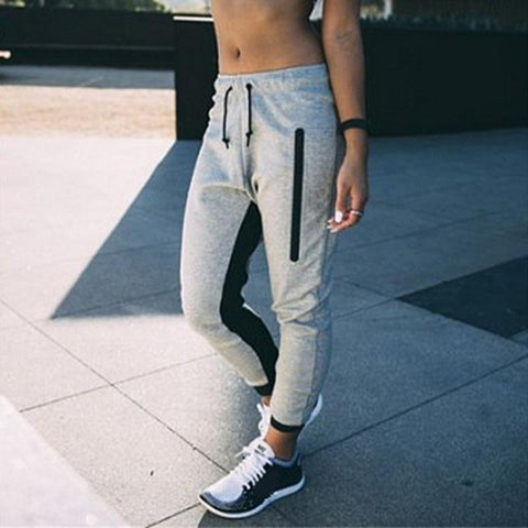 Pants Casual Ladies Joggers Tracksuit Bottoms
