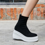 Wedges Socks Ankle Boots RI
