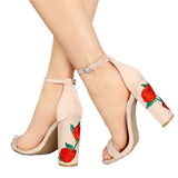 Shoes Hollow Open Toe Women