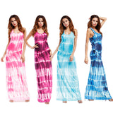 dress Fashion Women Gradient Printed