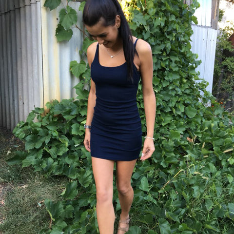Backless Basic Dresses